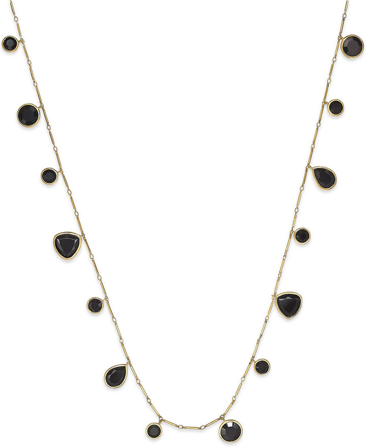 Kate Spadekate spade new york Gold-Tone Twinkle Lights Wrap Necklace