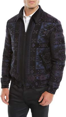 Etro Men's Wool Bomber Jacket