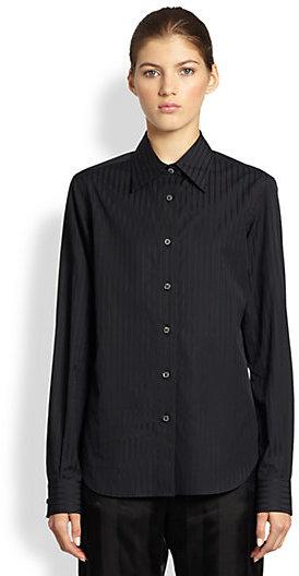 Maison Martin Margiela Poplin Button-Front Shirt