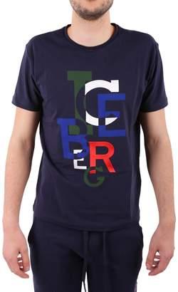 Iceberg Stretch Cotton T-shirt