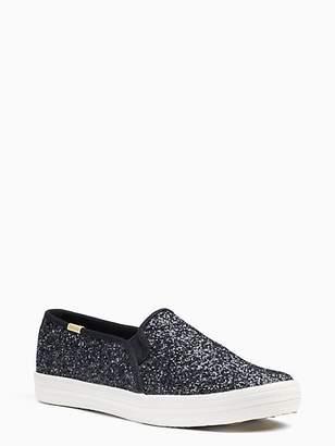 Kate Spade Keds x double decker glitter sneakers