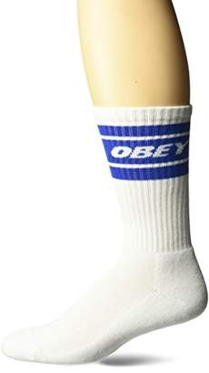 Obey Men's Cooper Ii Athletic Socks