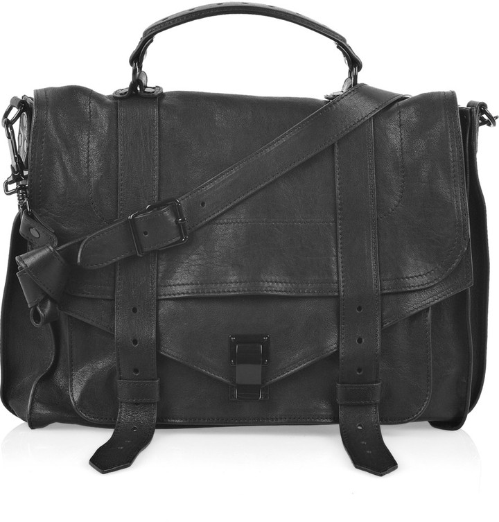 Proenza Schouler The PS1 large leather satchel