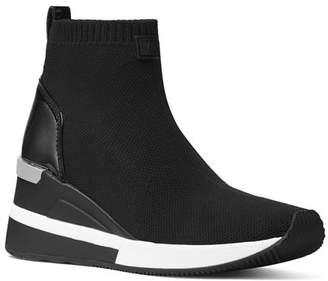 MICHAEL Michael Kors Women's Skyler Knit Slip-On Sneaker Boots