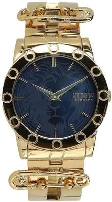 Versace Miami Stainless Steel Bracelet Watch