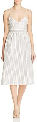 Theory Melaena Striped Linen Dress $325 thestylecure.com