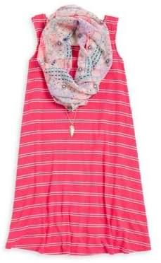DAY Birger et Mikkelsen Zunie Girl's Striped Dress