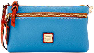 Dooney & Bourke Pebble Grain Tech Top Zip Pouch