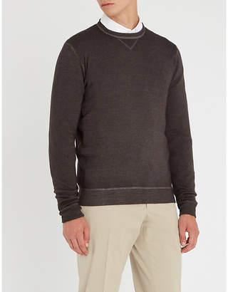 SLOWEAR Dyed wool jumper