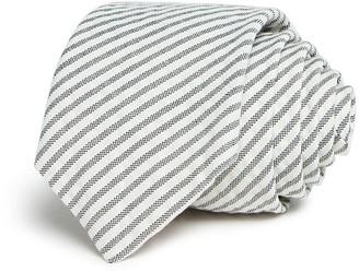 Paul Smith Seersucker Stripe Skinny Tie $150 thestylecure.com