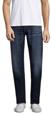 True Religion Geno W Flap Slim Straight Jeans