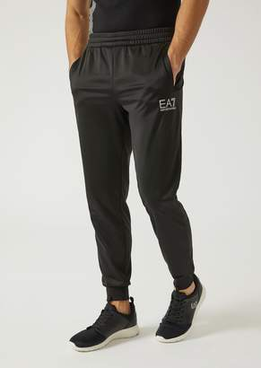 Emporio Armani Ea7 Trousers In Technical Fabric