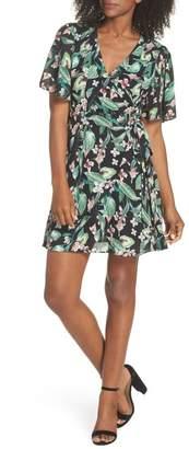 Adelyn Rae Kimi Wrap Dress