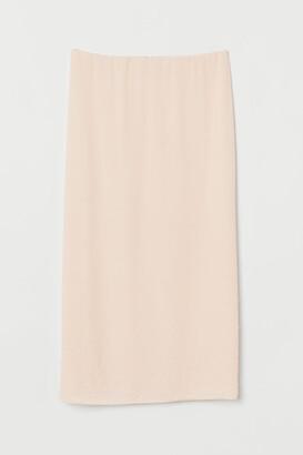 H&M Beaded Skirt - Beige