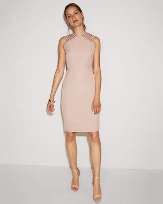Express Strappy Shoulder Sheath Dress