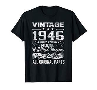 Vintage 1946 73rd Birthday All Original Party Gift T Shirts