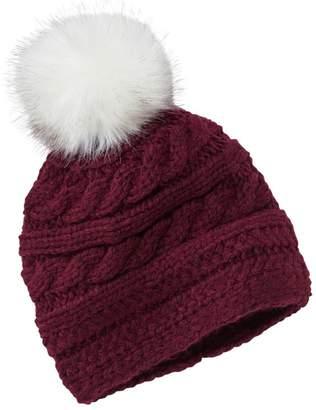 df9088990b4 L.L. Bean L.L.Bean Women s Chunky Knit Pom-Pom Hat