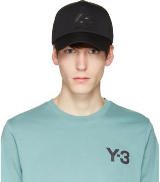Y-3 Black Truck Cap $75 thestylecure.com