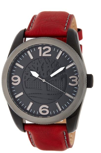 TimberlandTimberland Men&s Bolton Leather Watch
