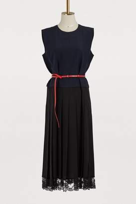 Marc Jacobs Sleevelss pleated dress