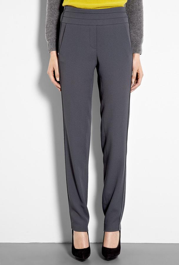Vanessa Bruno Crepe Satin Tuxedo Trousers