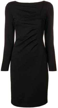 Giorgio Armani gathered detail dress