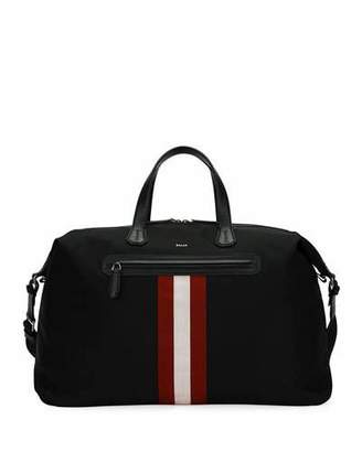 Bally Camer Canvas Weekender Bag
