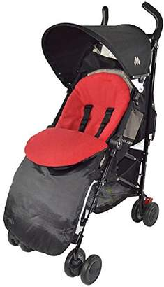 Footmuff/Cosy Toes Compatible with Buggy Pushchair Stroller Pram Red