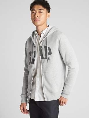 Gap Logo Fleece Zip Hoodie