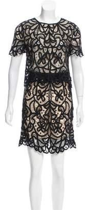 3.1 Phillip Lim Lace Mini Skirt Set