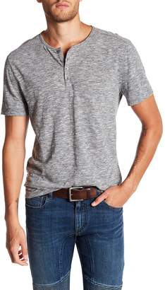 John Varvatos Collection Short Sleeve Henley