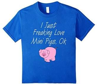 I Love Mini Pigs - Cute Pig Lover T-Shirt