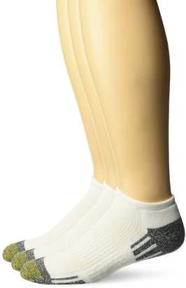 Gold Toe Men's Outlast No Show Socks, 3-Pack