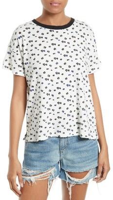 Women's Rag & Bone/jean Floral Vintage Cotton Tee $95 thestylecure.com