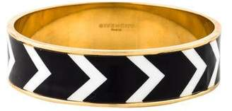 Givenchy Chevron Enamel Bangle