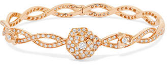 Piaget Rose 18-karat Rose Gold Diamond Bracelet