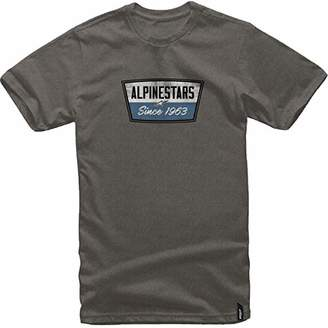 Alpinestars Men's Modern Fit Short Sleeves 146 GSM Motorsports Heritage T-Shirt