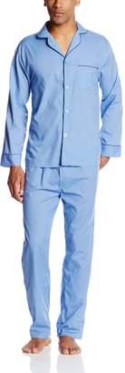 Hanes Men's Long Sleeve Leg Pajama Gift Set
