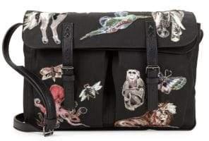 Valentino Rockstud Animal Messenger Bag
