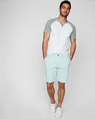 Express Slim 9 Inch Textured Stretch Shorts