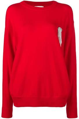 Laneus oversized sweatshirt