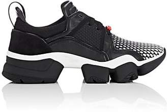 Givenchy Men's Jaw Mixed-Material Sneakers - Black