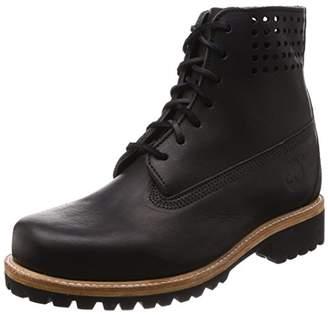 """Timberland (ティンバーランド) - [ティンバーランド] 6"""" Premium Boot Perf Collar メンズ A1GCF ブラック エセックス ホーウィーン 25.5 25.5 cm"""