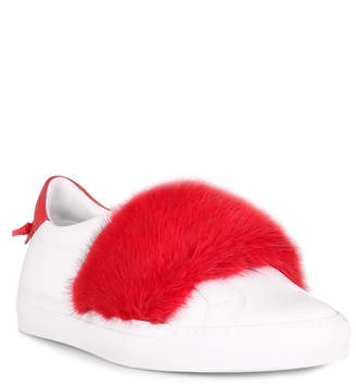 Givenchy Urban street red mink sneaker