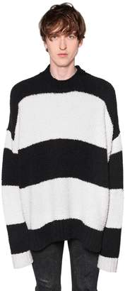 Amiri Oversized Stripe Wool Knit Sweater