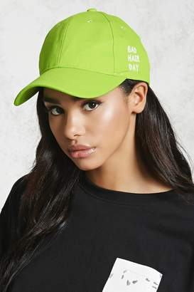 Forever 21 Bad Hair Day Graphic Cap