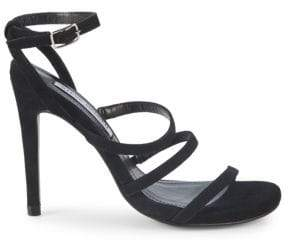 cc146f34be4 Black Strappy Heels Steve Madden - ShopStyle