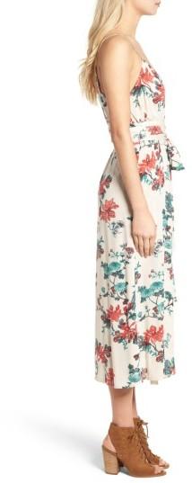 Women's Hinge Midi Wrap Dress 2