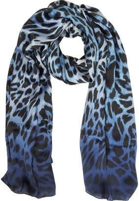 Marina D'Este Animalier Twill Silk Stole