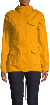 Design Lab Full Zip Utility Jacket